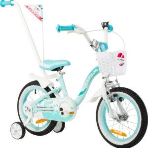 Rower dziecięcy dla dziewczynek błękitny