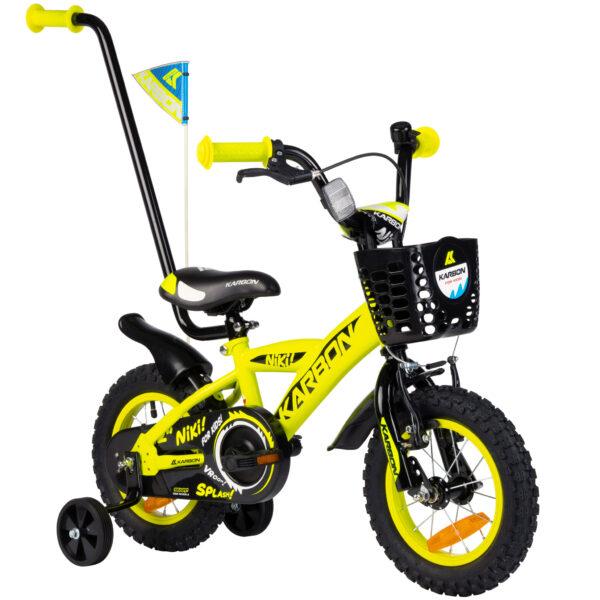 Rower dla chłopca 12 cali zółty