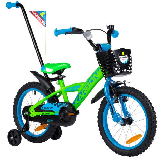 Rower dla chłopca 16 cali zielony