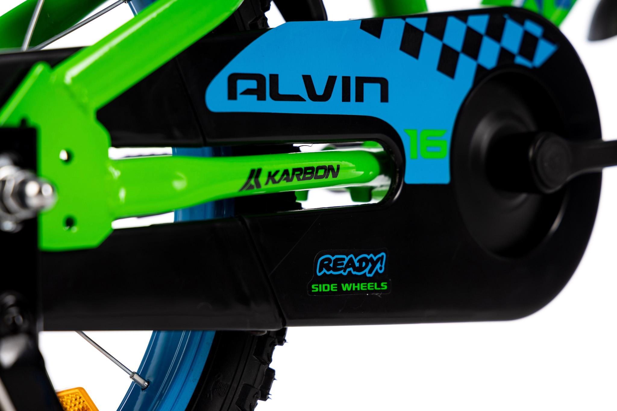 Rower dla chłopca 14 cali zielony