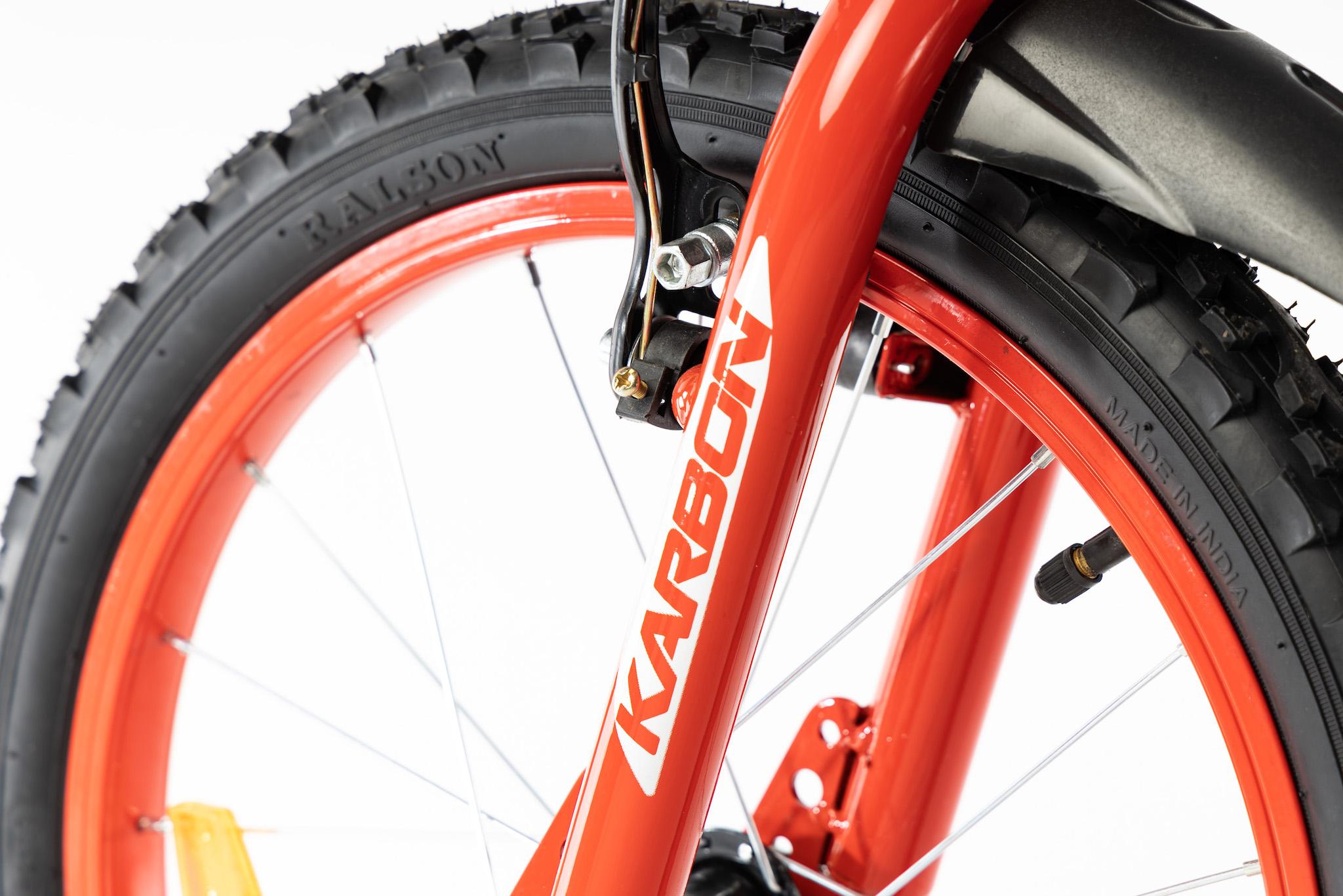 Rower dla chłopca 18 cali czarny