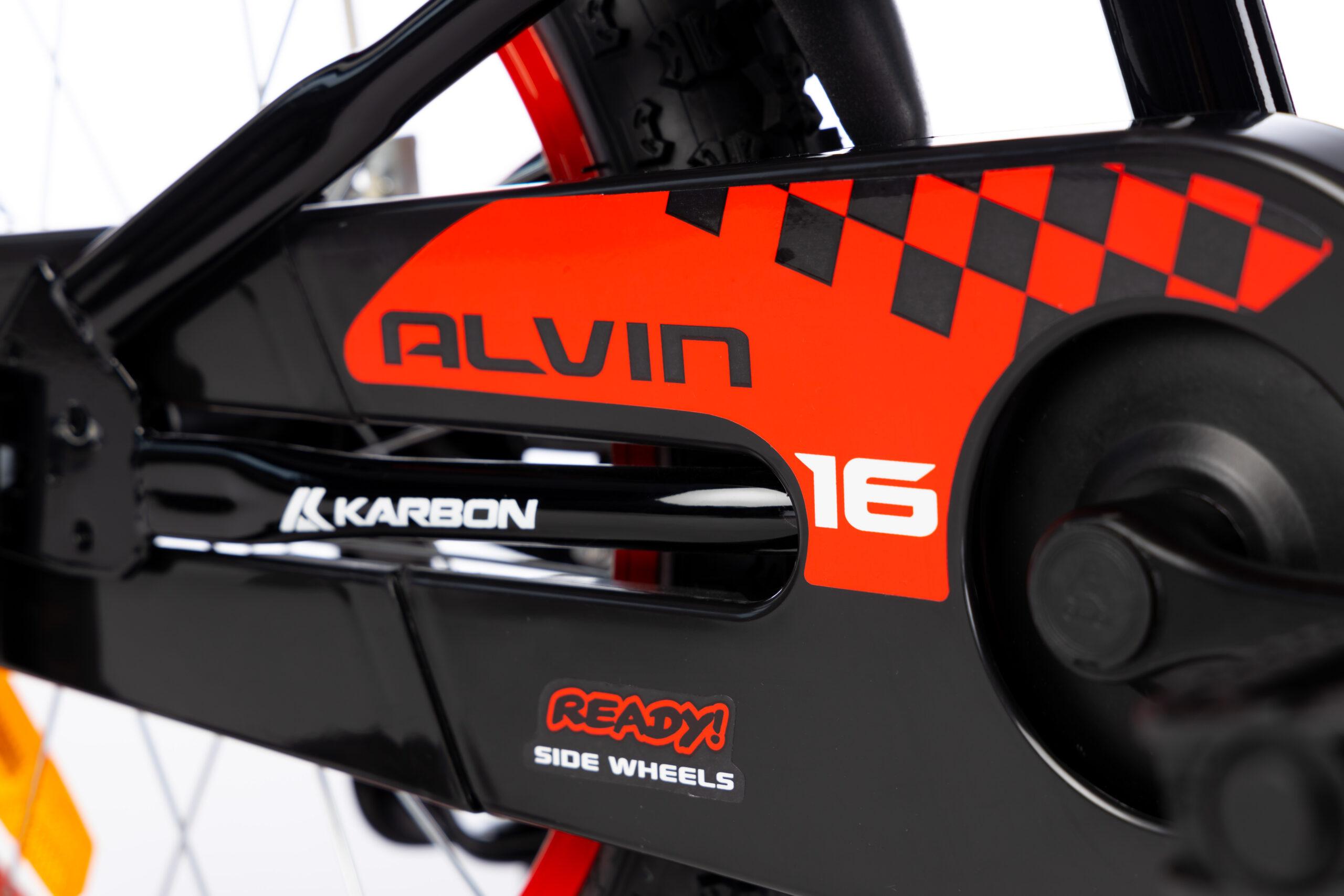 Rower dla chłopca czarny Alvin