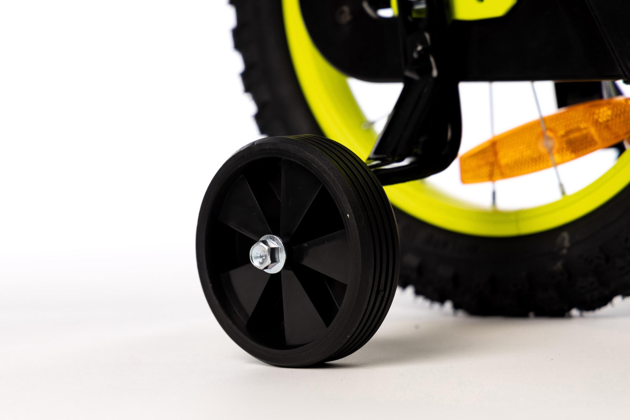 Rower dla chłopca Niki 14 cali zółty
