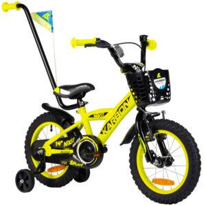 Rower dla chłopca 14 cali zółty