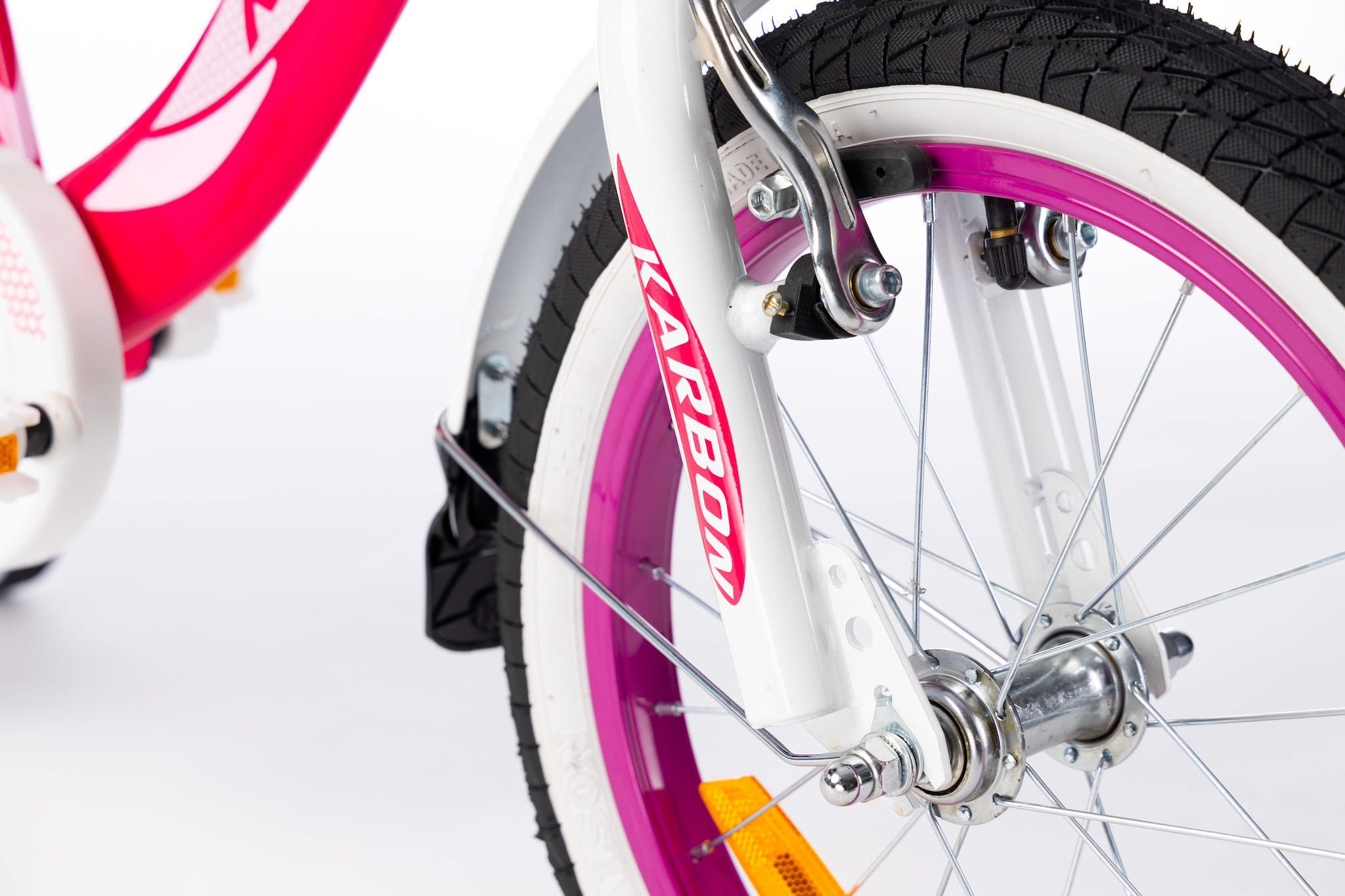 Rower dla dziewczynek 16 cali różowy