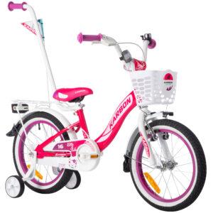 Rower dla dziewczynek 16 cali Kitty różowy