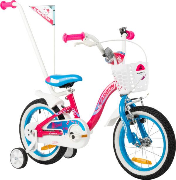 Rower dla dziewczynki 14 cali różowy