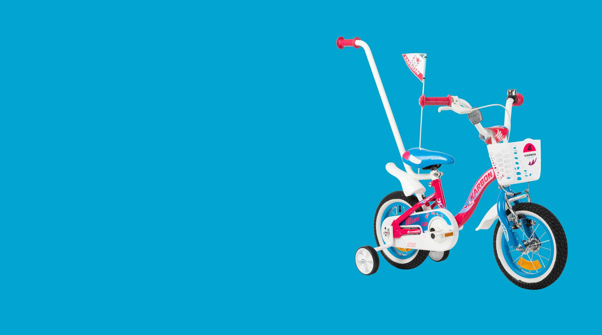 Rower dla dziewczynki Karbon