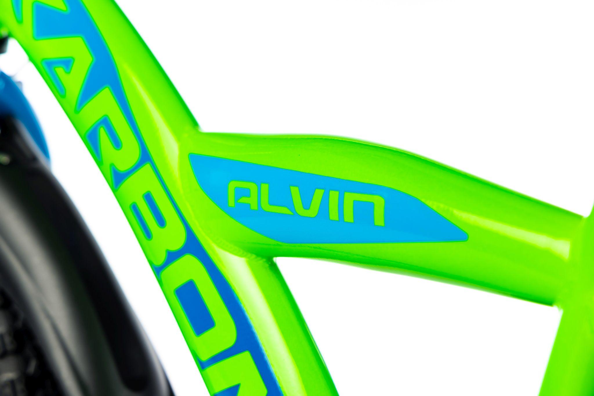 Rower dla chłopca 18 cali zielony