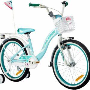 Rower dla dziewczynki 20 cali turkusowy