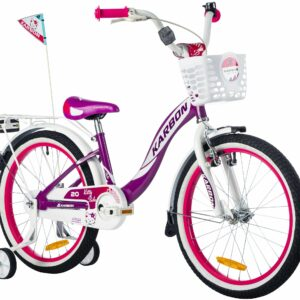 Rower dla dziewczynki 20 cali fioletowy