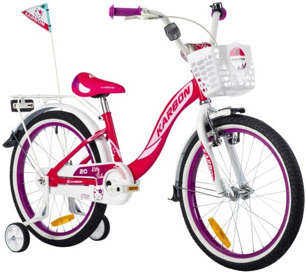 Rower dla dziewczynki 20 cali różowy