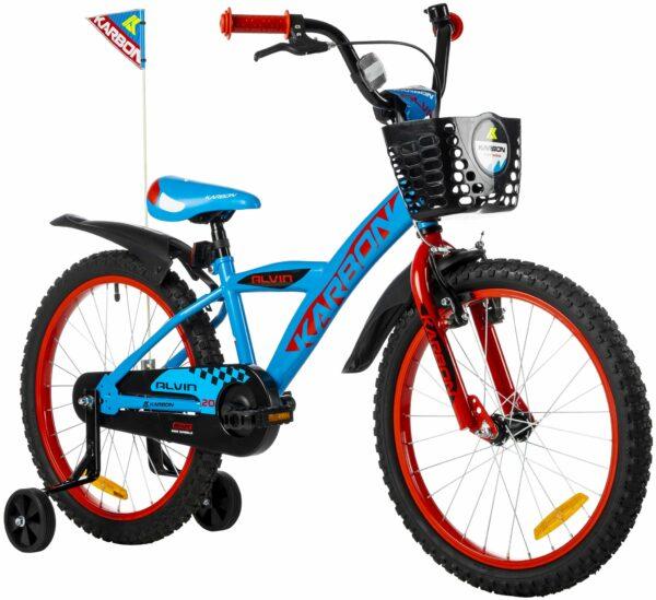 Rower dla chłopca 20 cali niebieski
