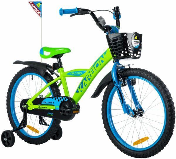Rower dla chłopca 20 cali zielony